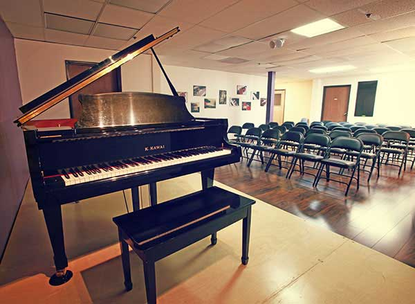 Huntington Beach School of Music's recital hall